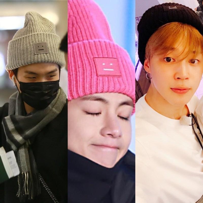 BTS ニット帽