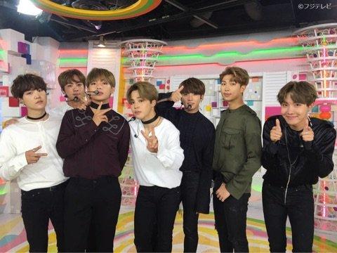 BTS めざましテレビ2017